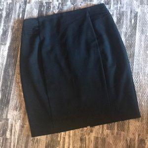 Express size 12 black career straight skirt